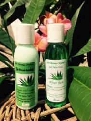 Combo gel de Aloe vera Y Crema de Aloe Vera  4 oz